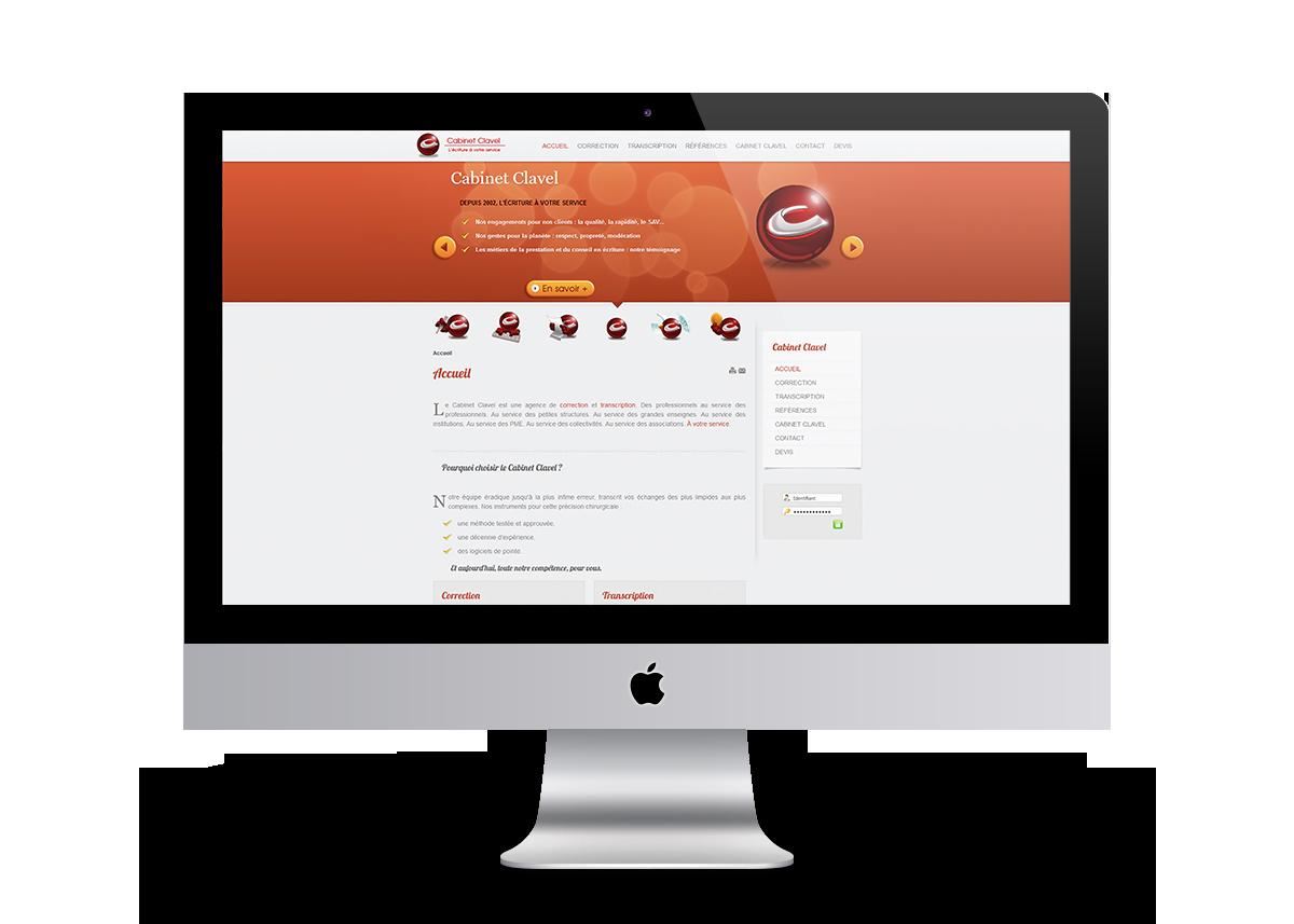 création site web agence